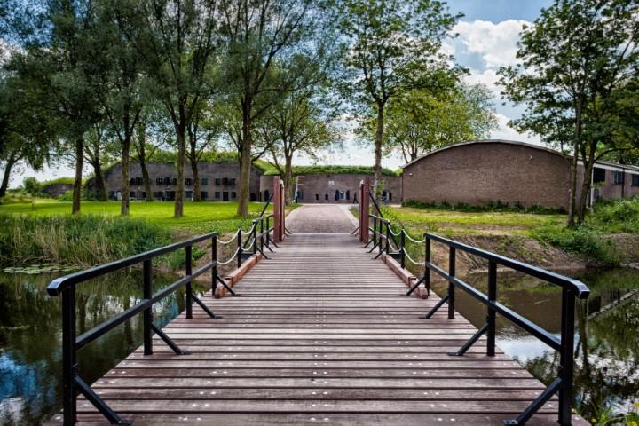 Complexen van cultuurhistorisch belang; Fort Altena in Uppel, toegangsweg.